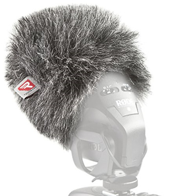 Rycote 055430 Mini Windjammer For Rode Stereo VideoMic Pro • 43.76£