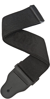 Planet Waves 3 Inch Wide Bass Guitar Strap - Black • 17.99£