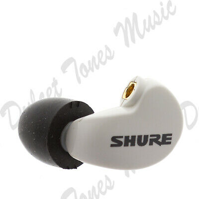 *NEW* Shure SE215 LEFT EARBUD/DRIVER ONLY White Earphone *1ST CLASS POST* • 39.95£