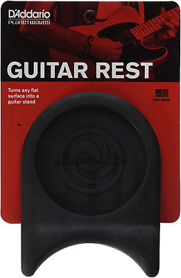 DAddario PW-GR-01 Guitar Rest. Turn Any Flat Surface Into A Guitar Stand • 9.24£