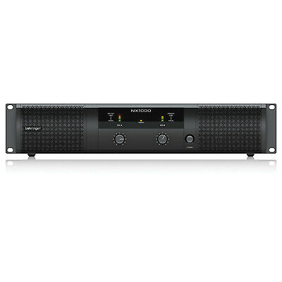 Behringer NX Range Of Class D Power Amplifiers (Model NX1000 Power (W) 1000) • 201.12£
