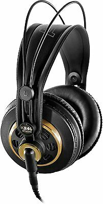 Wired Over Ear Headphones Professional Studio Recording Stereo Audio Headset • 62.40£