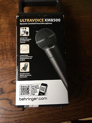 Behringer ULTRAVOICE Xm8500 Dynamic Handheld Microphone • 16.20£