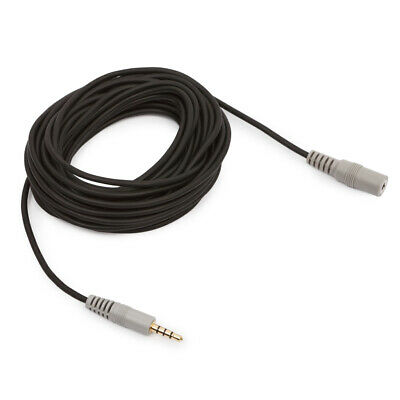 20ft / 6m TRRS SC1 3.5mm Microphone Extension Cable For Rode Replacement IPhone • 9.95£