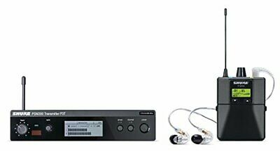 Shure P3TRA215CL PSM300 Wireless H20 Band Personal Monitor System W/ SE215-CL • 571.57£