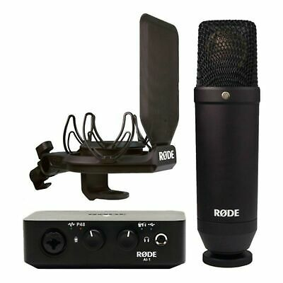 Rode Csk Kit Microphone NT1 And Interface AI-1 • 346.16£