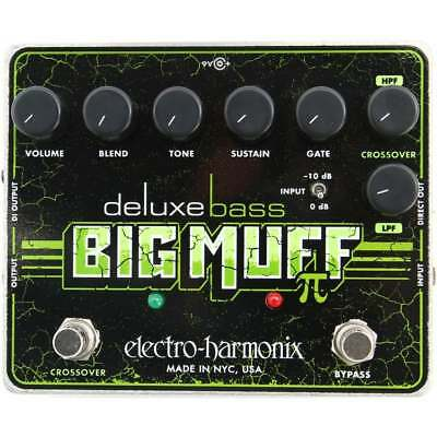 Electro Harmonix Deluxe Bass Big Muff Pi Distortion/Sustainer Guitar Pedal • 111£