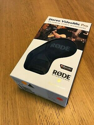Rode Stereo VideoMic Pro Rycote, Mint Boxed Ex-display Accessories Warranty • 110.99£