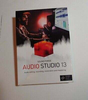 NEW Sound Forge Audio Studio 13- NO DISK INCLUDED - - MAGIX / SONY *USA SELLER* • 22.99£