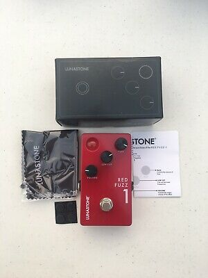 LunaStone Pedals Red Fuzz 1 Distortion Rare Guitar Effect Pedal + Original Box • 98.90£