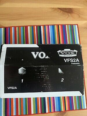 Vox Foot Guitar Footswitch Pedal - VFS2A • 45£