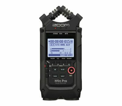 Zoom H4n Pro BK Recorder Portable 4 Tracks, Black • 226.98£