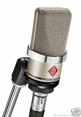 Neumann TLM 102 Condenser Microphone, Cardioid - Nickel    Authorized Dealer • 512£