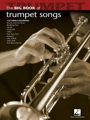 Big Book Of Trumpet Songs (Big Book (Hal Leonard)) New Paperback Book • 13.41£
