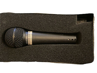 Behringer XM8500 Ultravoice Dynamic Cardioid Vocal Microphone • 19.99£