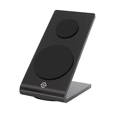 K&M Stands 19855 Black Acrylic Glass Universal Tablet/PC Stand • 18.45£