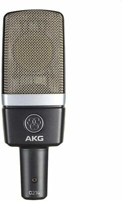 AKG C214 Professional Large Diaphragm Condenser Microphone Spider Type Shock • 323.51£