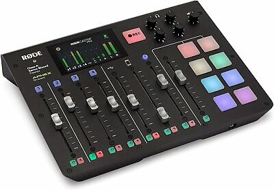 Rode RODECaster Pro Podcast Production Studio SFX One Touch 4 Channels USB 512MB • 685£