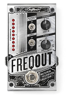 DigiTech DIG0182 FreqOut Natural Feedback Creator Guitar Effects Pedal • 138.53£