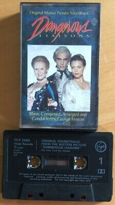 Dangerous Liaisons Original Soundtrack Ost Cassette Tape George Fenton • 10£