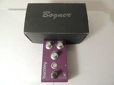 Bogner Burnley V2 Classic Distortion Version 2 Effects Pedal Free USA Shipping • 107.33£