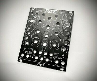 Black Facepanel For Make Noise Maths Synth Eurorack Module By Audio-Parasites • 24£