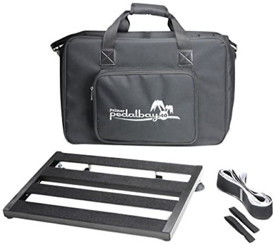 Palmer MI PEDALBAY 40-Variables - Pedal Board With Padded Carry Case 45 Cm • 63.34£
