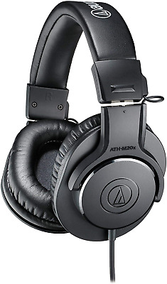 Audio-Technica ATH-M20X Professional Headphones - Black • 51.12£