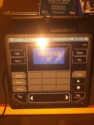 Tc Helicon Voicelive Touch 2 With Brand New AC Adapter, Couple Of Small Blemish • 300£