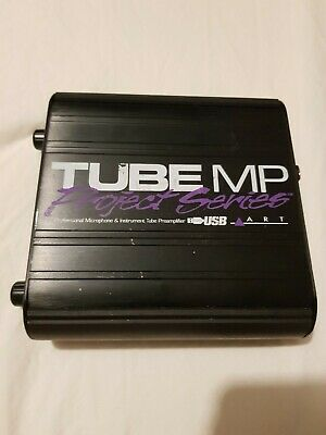 Tube MP Project Series - ART - Microphone And Instrument Tube Preamp W/ USB • 46£