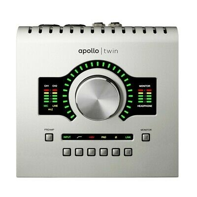 UAD Universal Audio Apollo Twin DUO USB W/ Real Time Analogue Classics Bundle • 650£