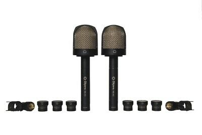 (NEW) Matched Stereo Pair Oktava MK-012-10 Pro Studio Microphone Wooden Box • 857.02£