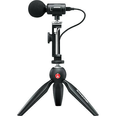 Shure MOTIV MV88+ Video Kit Digital Stereo Microphone And Accessories • 182.13£