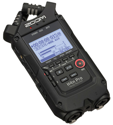 Zoom H4n Pro BK Recorder Portable 4 Tracks - B-Stock • 199.38£