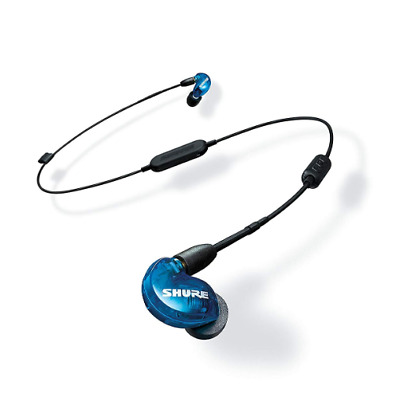 Shure SE215 SPE-BT1 Earphones Sound Isolating, Blue - Used • 163.78£