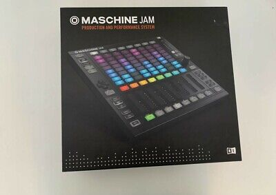 Native Instruments: Maschine Jam With KOMPLETE 11. OPENED BUT NEVER USED • 153£