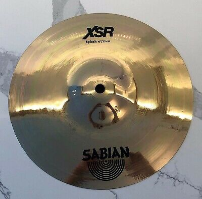 Sabian XSR Splash 10  Cymbal EXCELLENT Condition - New In 2019 Used Once • 69.45£
