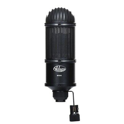 (NEW) Matched Stereo Pair Oktava ML-52-02 Studio Microphone (Black) Wooden Box • 777.06£