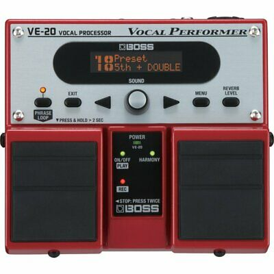 Boss Ve-20 Vocal Performer Voice Effects Processor New • 229£