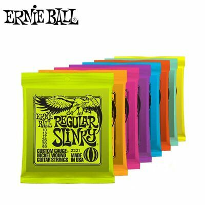 FREE WORLDWIDE SHIPPING Original Ernie Ball Electric Guitar Strings • 8.70£