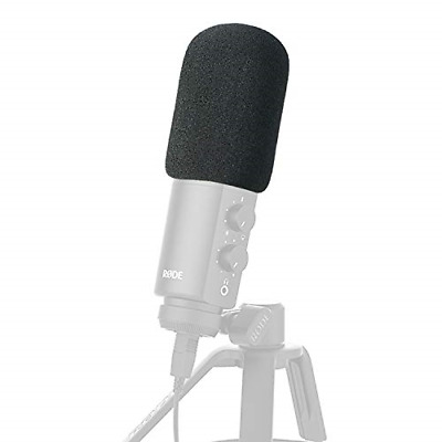 Foam Microphone Windscreen - Mic Cover Pop Filter Customized For Rode NT-USB • 13.04£