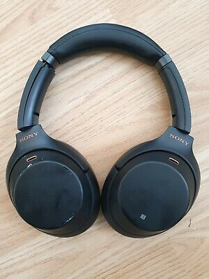 Sony WH-1000XM3 Noise Cancelling Bluetooth Headphones Wireless Over-Ear - Black  • 125£