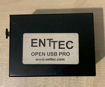 Enttec Open USB Pro DMX Interface Works With Chamsys MagicQ PC Mac • 31.53£