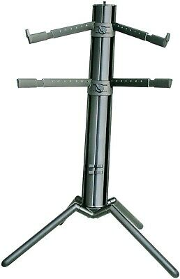 K&M Stands 18860 Keyboard Stand »Spider Pro« Black Anodized Brand New Open Box • 206.25£