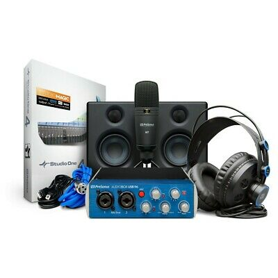 PreSonus AudioBox USB 96 Ultimate Studio Bundle • 259£