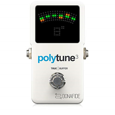 tc electronic Polytune 3 Ultra Compact Polyphonic Tuner