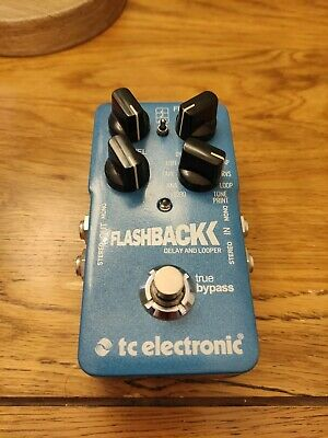 TC Electronic Flashback Delay And Looper Effects Pedal • 85£