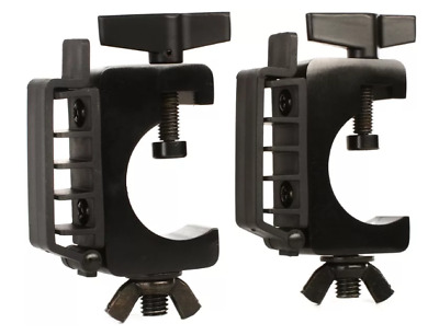 On-Stage Stands LTA4770 Lighting Clamp With Cable Management (pair) • 10.90£
