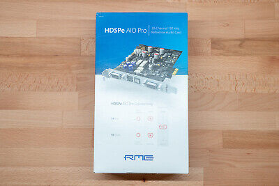 RME HDSPe AIO Pro – Reference Grade PCIe Audio Interface • 650.51£