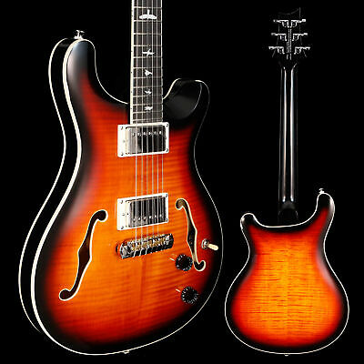 PRS Paul Reed Smith SE Hollowbody II, Tri-Color Sunburst 163 6lbs 0.5oz • 831.40£